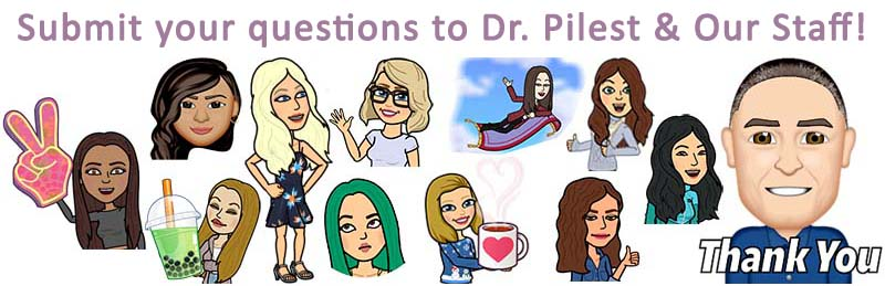 Submit your skincare questions to Dr. Pilest and his team.